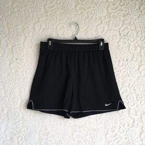 Black & White Athletic Nike Shorts